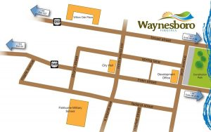 City of Waynes page map_Downtown-Detail-ED-and-City-H